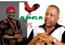 APGA vs Buhari