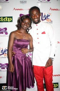 T-Woode and a fellow Actress