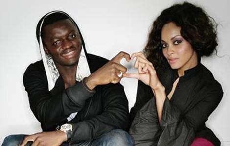 Sulley Muntari and wife Menaye Donkor