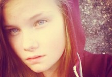 Danish teenager Lisa Borch
