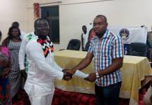National President & CEO - Richard Odame