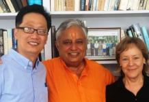 With Heidi Hadsell & Uriah Y. Kim of Hartford Seminary