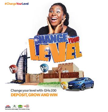 Access Bank Change your level promo