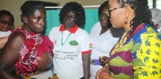 Lordina Mahama cancer campaign
