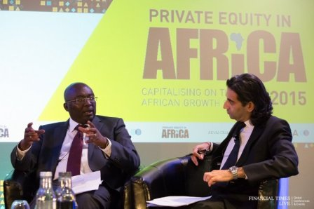 Dr Mahamudu Bawumia speaking at the Financial Times Summit