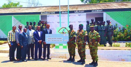 Donation to the Ghana Military Academy