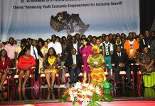 Dignitaries and participants