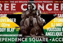Mo Ibrahim Foundation presents free concert