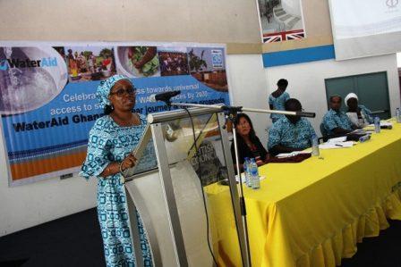 Dr Afia Zakiya, the Country Representative of WaterAid Ghana