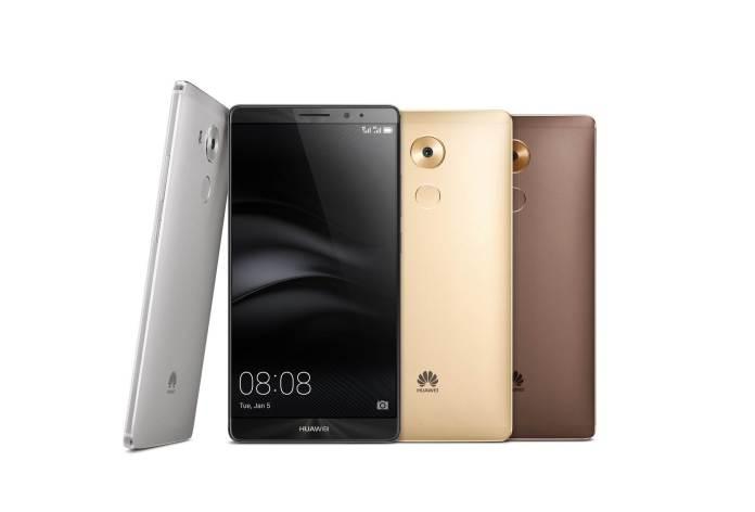 Huawei Mate 8 smartphone.