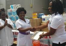 Obuobia Darko-Opoku supports hospital on valentine's day