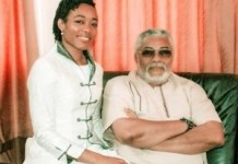 Dr. Zanetor Rawlings and Former President Jerry John Rawlings
