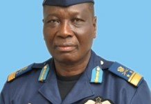 Chief of Defence Staff, Air Marshal Michael Samson-Oje