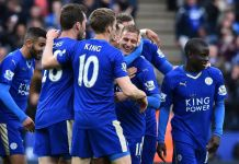 Leicester, the 5,000-1 outsiders, will be champions for the first time in their 132-year history if they prevail at the home of United (AFP Photo/Ben Stansall )