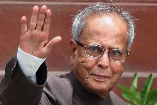 Pranab-Mukherjee-the-President-of-India