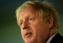 AFP/File / Oli Scarff Leading Brexit campaigner Boris Johnson has won a British prize that called for rude poems about Turkish President Recep Tayyip Erdogan