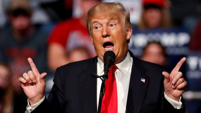 Donald Trump has vowed to tackle trade issues between the Donald Trump has vowed to tackle trade issues between the US and ChinaUS and China