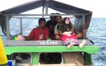 Indonesian Police/AFP/File / Indonesian Police, - Indonesian villagers found the inflatable doll in April while fishing off the remote Banggai islands