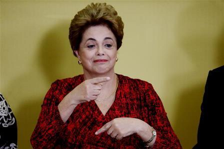 Dilma Rousseff (Xinhua file pic)