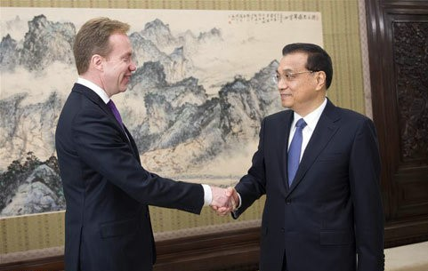 China-Norway ties