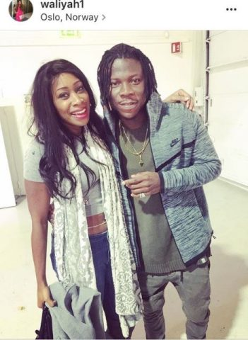 Stonebwoy spotted with Waliyah