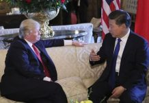 President Donald Trump With Xi Jinping