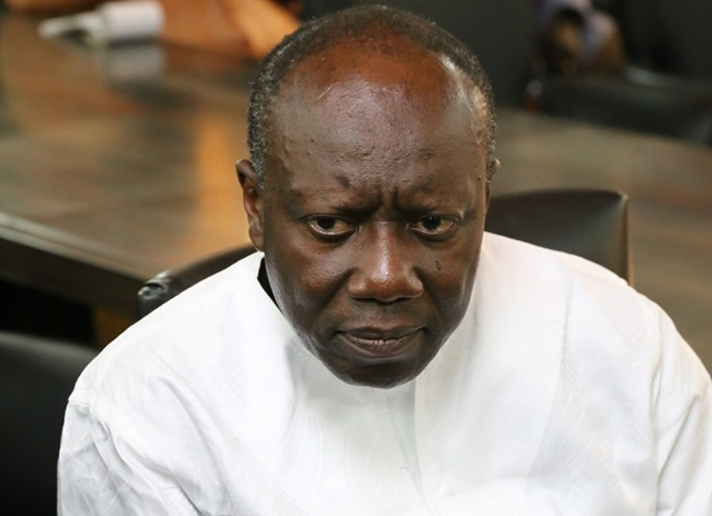 Ken Ofori-Atta, Minister of Finance