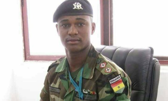 Major Maxwell Mahama