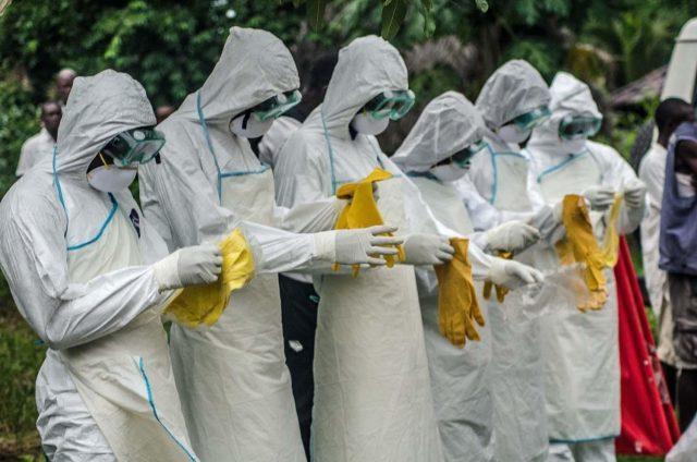 Ebola volunteers