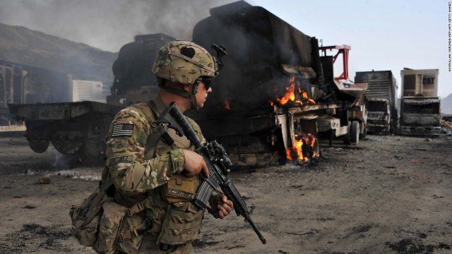 Afghanistan occupation by United States military coming up on 16 years