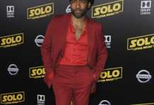 Premiere Solo A Star Wars Story Featuring: Donald Glover Where: Los Angeles, California, United States When: 10 May 2018 Credit: Apega/WENN.com