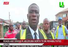 Roads and drains in Ablekuma north to be rehabilitated