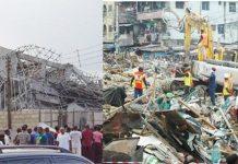 Ibadan Building Collapsed