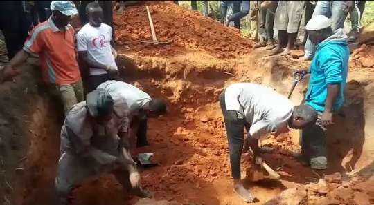 Mass Burial Accident Victims
