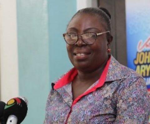 Ms Mina Mensah Of Head Of Chri