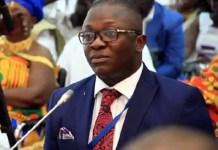 Minister Of State In Charge Of National Security Bryan Acheampong