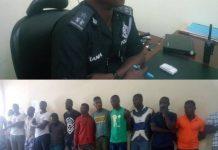 Police Grab Suspected Criminals At Swedru And Kasoa