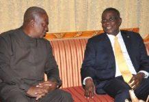 Professor Atta Mills And Mahama