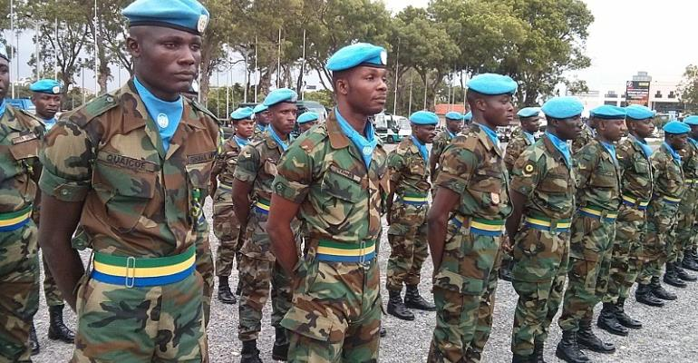 Ghanaian Peacekeepers