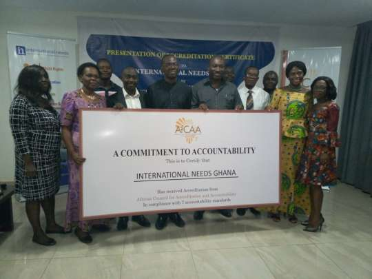 International Needs Ghana receives accreditation