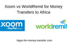 Xoom vs WorldRemit for Money Transfers to Africa
