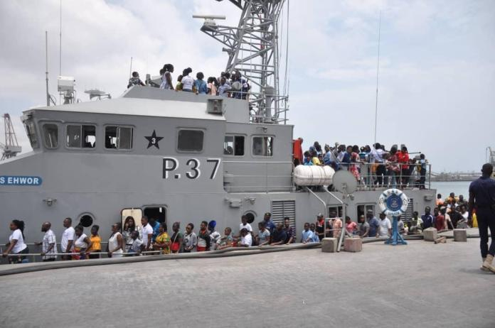Ghana Navy marks 60th anniversary with open day