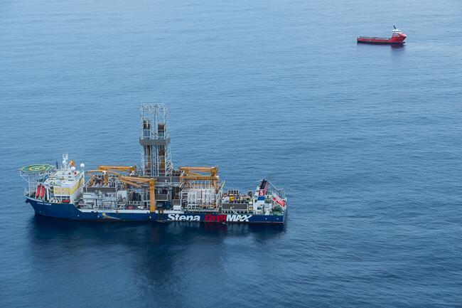 Oil drilling in WCTP block 2