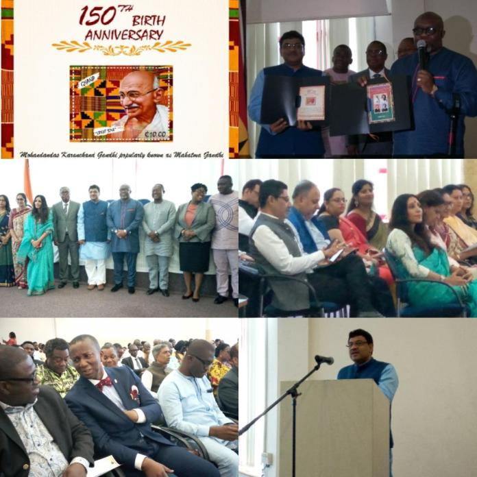 Ghana Post/India High Commission Launches
