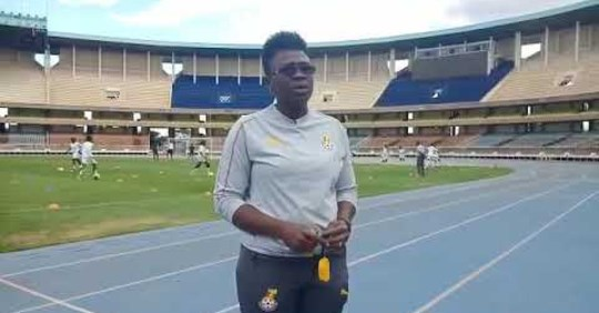 Coach Mercy Tagoe- Quarcoo