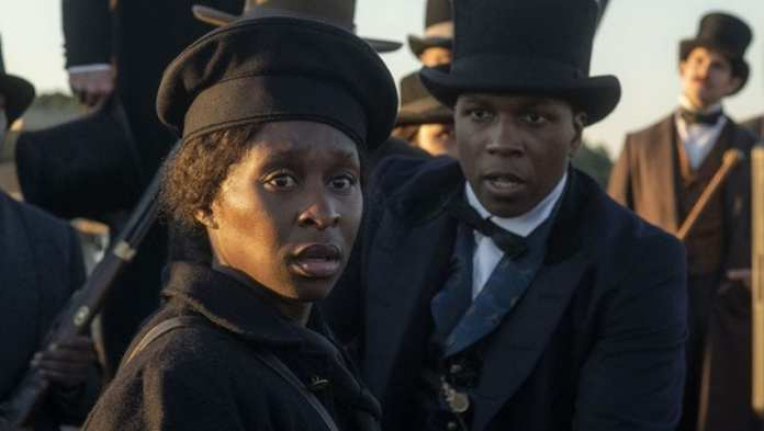 Harriet Tubman film depicting protagonist and leader of the Philadelphia Anti-Slavery Society