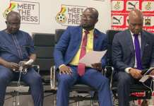 GFA Holds Maiden 'Meet The Press'