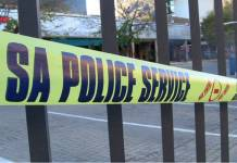 SAPS police tape, file image Image: Supplied