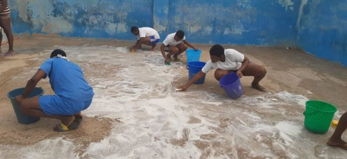 Schools Sanitation Inspection Tour