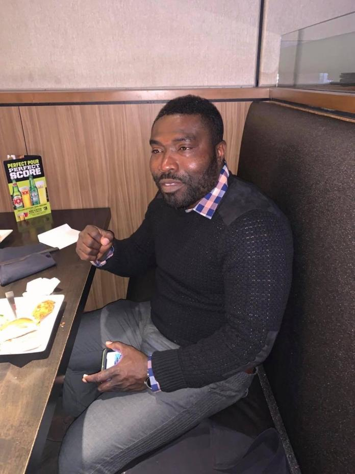 Alfred Nii Larbi Darku Former Striker Of Accra Hearts Of Oak